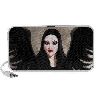 Morbella Gothic Fantasy Speaker doodle