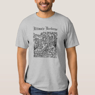 Morbid Barbecue with Vlad the Impaler T Shirt
