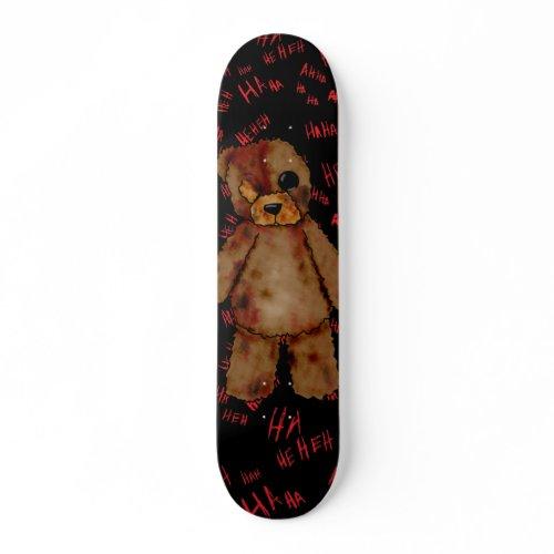 Morbid Teddy Bear skateboard. skateboard