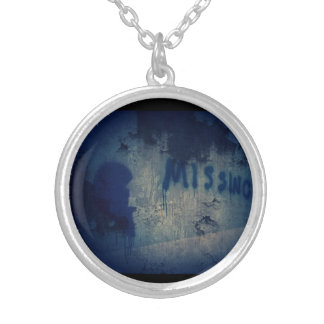Morbid Urban Decay Heart Silver Plated Necklace