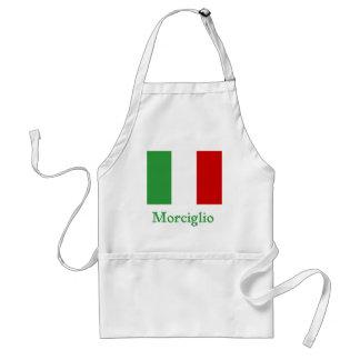 Morciglio Italian Flag Adult Apron
