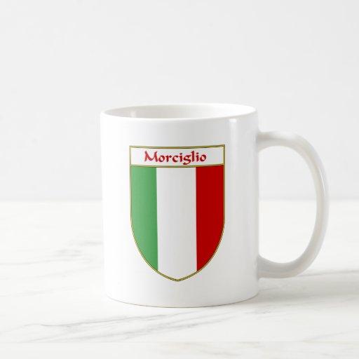 Morciglio  Italian Flag Shield Classic White Coffee Mug