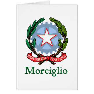 Morciglio Rrpublic of Italy Card