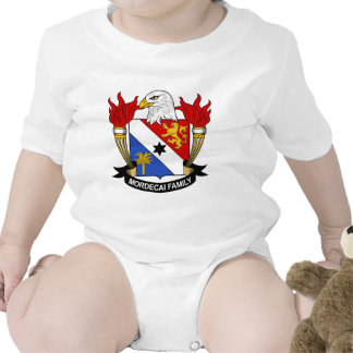 Mordecai Family Crest Baby Bodysuits