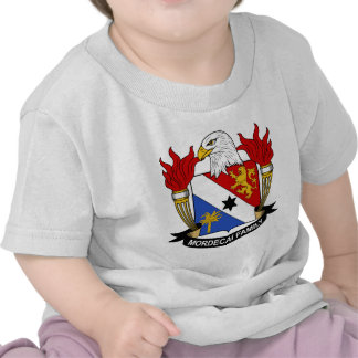 Mordecai Family Crest T-shirts