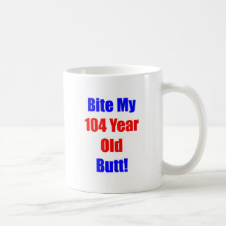 Mordedura 104 mi extremo tazas de café