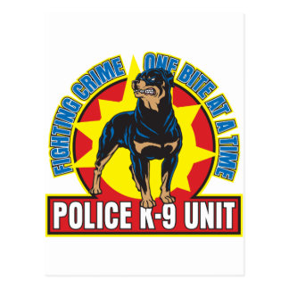 Mordedura de K9 Rottweiler Postal