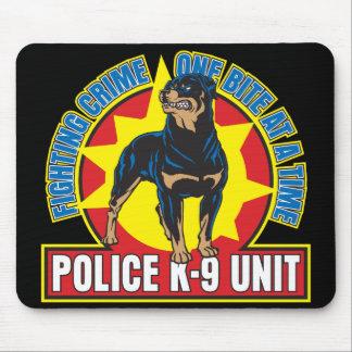Mordedura de K9 Rottweiler Alfombrillas De Raton