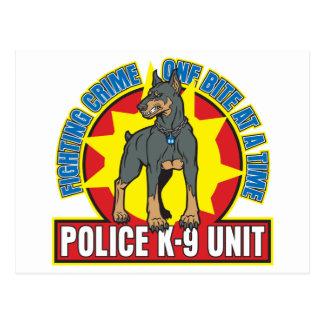 Mordedura del Doberman K9 Postal