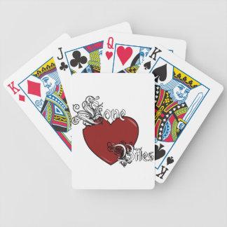 Mordeduras de amor baraja de cartas