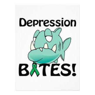 MORDEDURAS de la depresión Invitación Personalizada