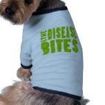 Mordeduras de la enfermedad de Lyme Camisa De Perrito