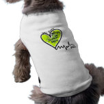 ¡Mordeduras de LymeAngels/de Lyme! Camisas De Mascota