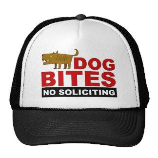 Mordeduras de perro, ningún gorra solicitante