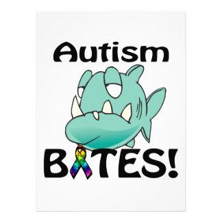 MORDEDURAS del autismo Invitación Personalizada
