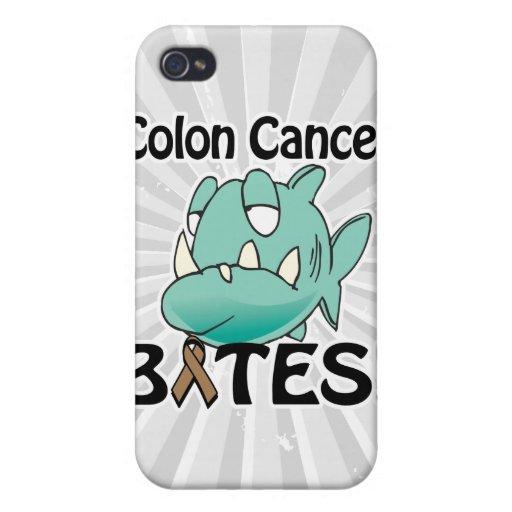 MORDEDURAS del cáncer de colon iPhone 4 Funda