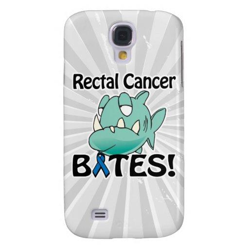 MORDEDURAS del cáncer rectal