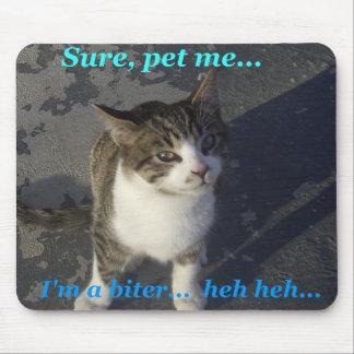 Mordeduras del gatito alfombrilla de ratones