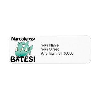 MORDEDURAS del Narcolepsy Etiqueta De Remite