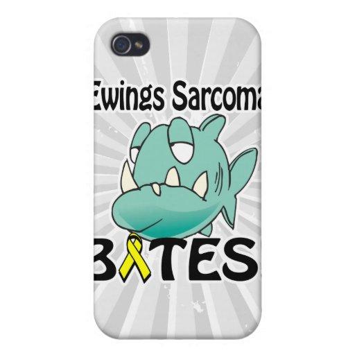 MORDEDURAS del sarcoma de Ewings iPhone 4 Carcasas