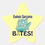 MORDEDURAS del sarcoma de Ewings Colcomanias Forma De Estrellaes Personalizadas