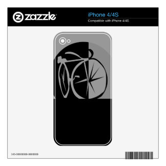 Morden Elegant Bike Design iPhone 4 Skin