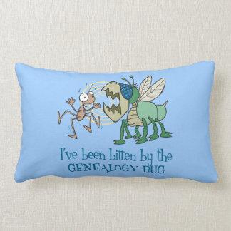 Mordido por el insecto de la genealogía almohada