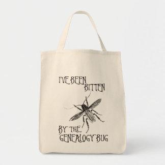 Mordido por el insecto de la genealogía bolsas