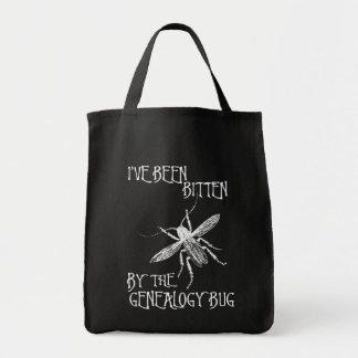 Mordido por el insecto de la genealogía bolsa de mano