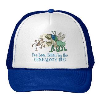 Mordido por el insecto de la genealogía gorras