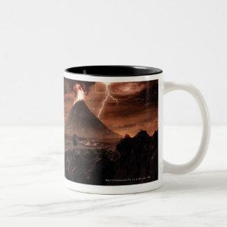 Mordor Lightning Storm Coffee Mug