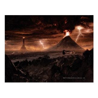 Mordor Lightning Storm Post Card