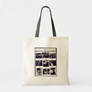 More And More Women Work On Aircraft Tote Bags