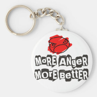 More Anger More Better Keychain