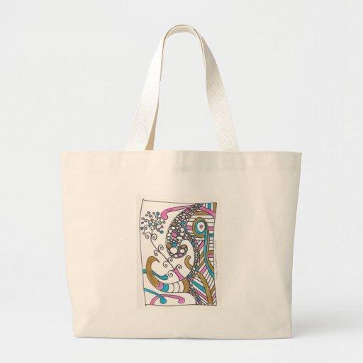 more april doodles bags