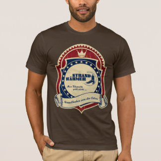 More beach-warmly Beachwear logo T-Shirt