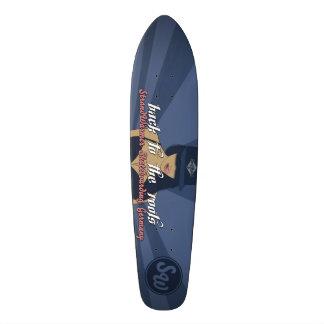 """More beach-warmly Longboard """"ROOT"""" skateboard"""