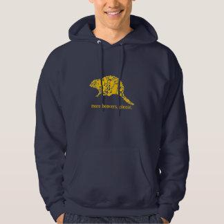 More beavers, please hoodie