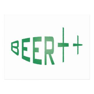 more beer postcard