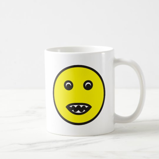 more biting smilie biting coffee mug