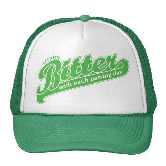 More Bitter With Each Passing Day Mesh Hat