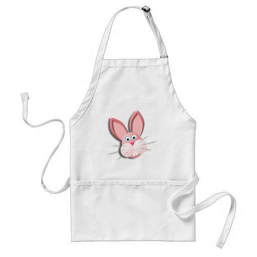 More Bunny Adult Apron
