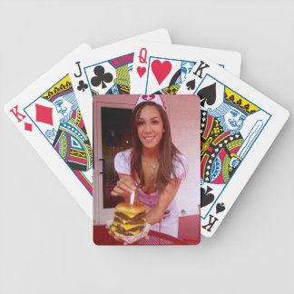 More burger merch! bicycle playing cards