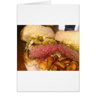 More burger merch! greeting card