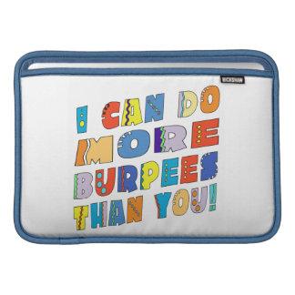 More Burpees MacBook Air Sleeve