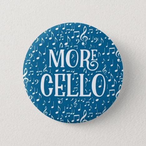 More Cello - Blue White Music Button