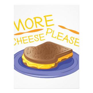 More Cheese Please Letterhead