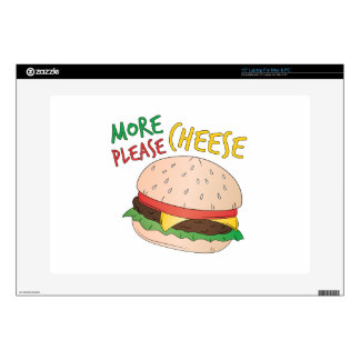 More Cheese Please Laptop Decals