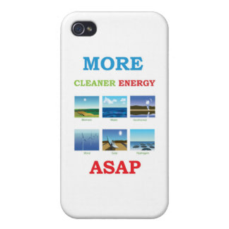 more cleaner energy asap iPhone 4 cases