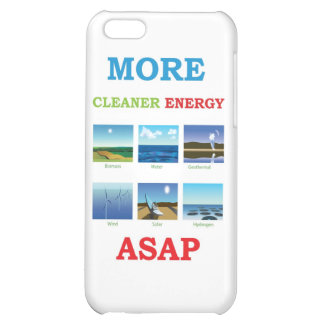 more cleaner energy asap iPhone 5C cases